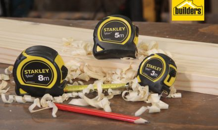 Product Review: Stanley Tylon Measuring Tapes