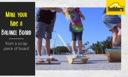 How to make your kids a balance board