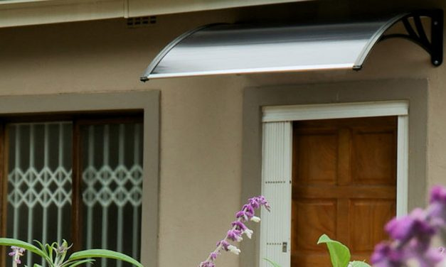 How to install an awning