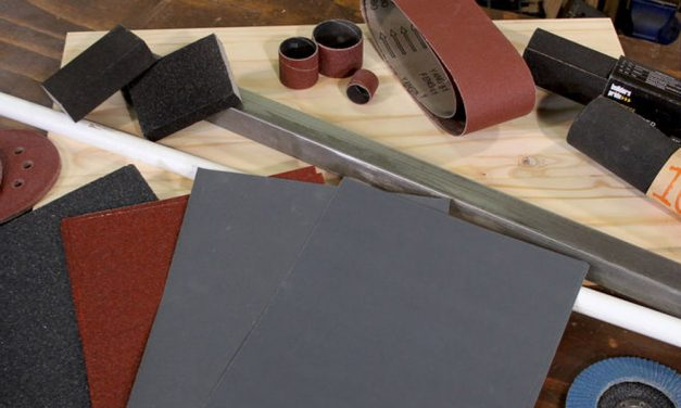 How to use sandpaper