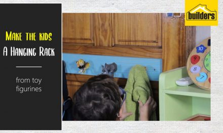 How to make a kids hanging rack