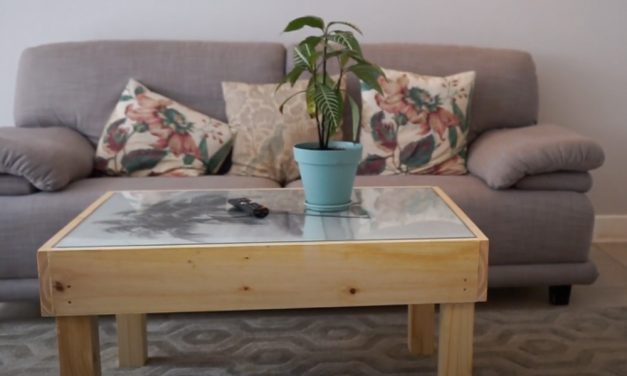How to make a decorative art table