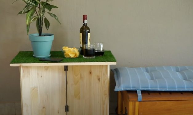 How to make a grass top table