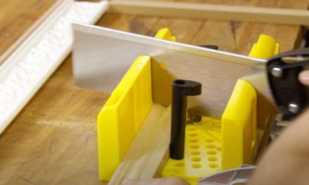 Product Review: Stanley Mitre Box and Saw
