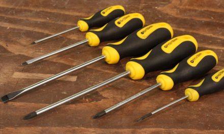 Tork Craft 6 piece screwdriver set