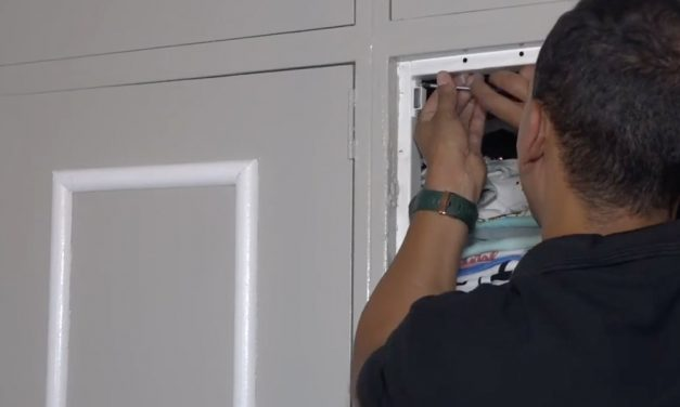 How to install door magnets