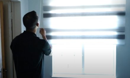 How to hang up blinds