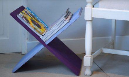 How to make a magazine holder