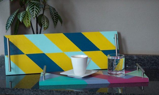 How to make a Scandinavian tea tray