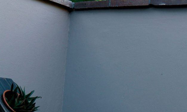 How to paint outdoor walls