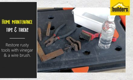 How to restore rusty tools with household ingredients