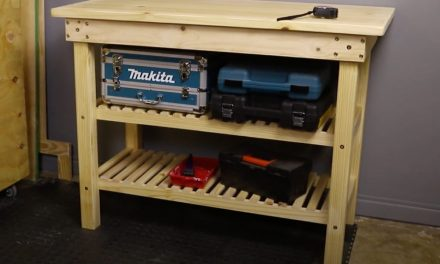 How to assemble a workbench