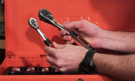 Grip 124 Piece mechanics tool chest set