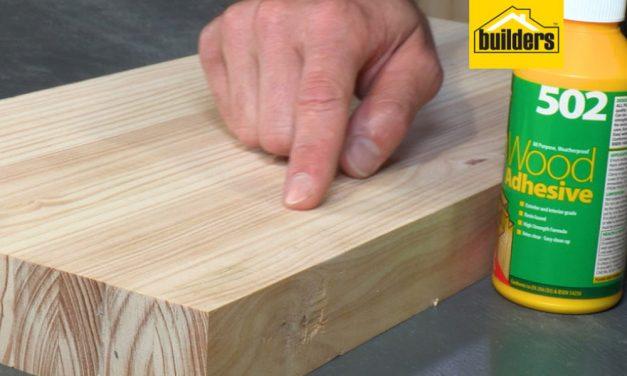 Everbuild wood adhesive