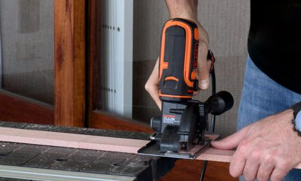 Black and Decker MultiEvo trim saw head