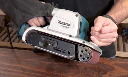 Makita M9400 belt sander MT series
