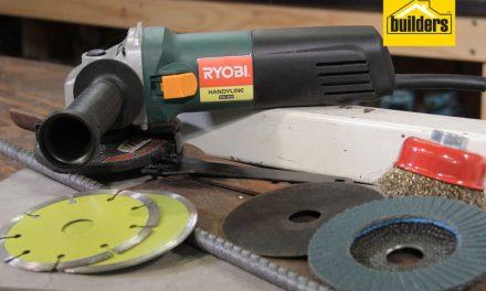 Ryobi HG 650 angle grinder