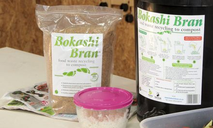 How to use a Bokashi composter