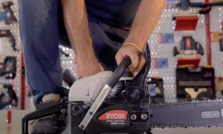 How to operate Ryobi chainsaws