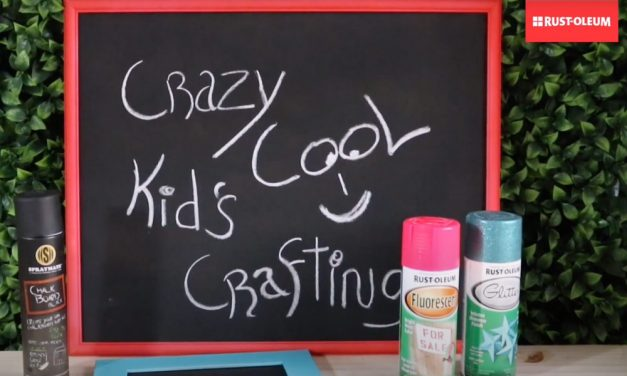 How to make a chalk board
