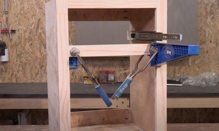 Kreg drawer slide jig