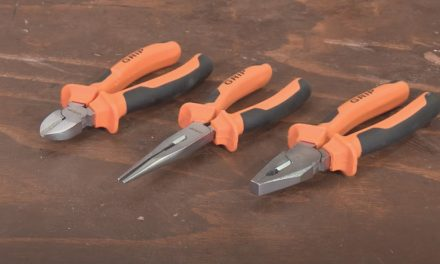 Grip 3 piece plier set