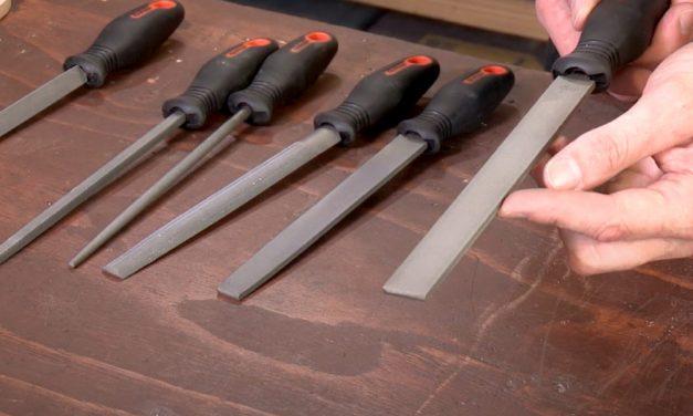 Grip steel files
