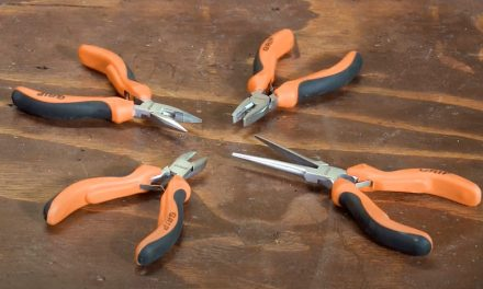 Grip precision pliers set