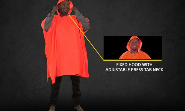 Beck Rubberized Poncho
