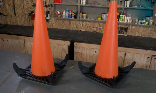 Reflect-O-Site safety rebound cone
