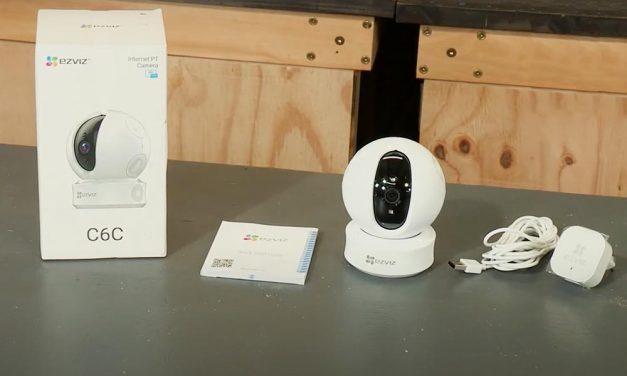 Product Review: Ezviz Pan Tilt IP Camera