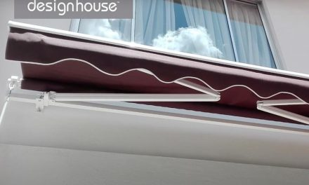 How to install a retractable awning by Designhouse