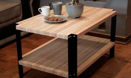 How to Make a Coffee Table Using Angle Iron