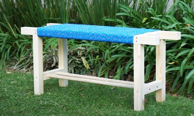 How to Make a Rope Bench