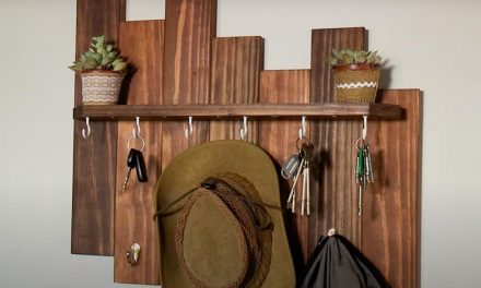 How To Make an Entrance Hall Organizer