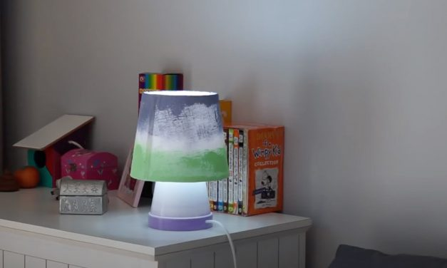 How to Make a Pot Plant Lamp