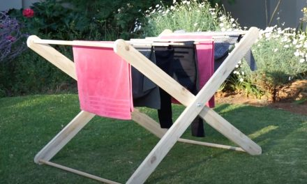 How to Make a Wooden Drying Rack