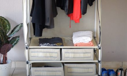 How To Assemble a 4 Drawer Hanging Wardrobe