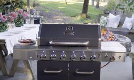 Megamaster Apex Series 6 Burner Patio Gas Braai