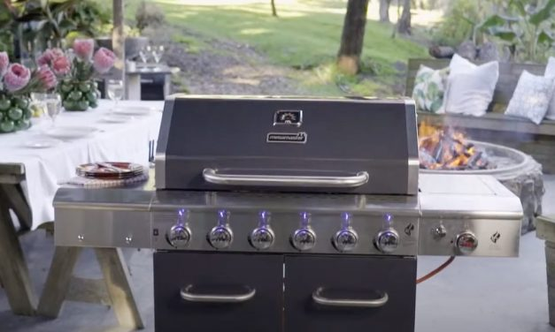 Megamaster Apex Series 6 Burner Patio Gas Braai