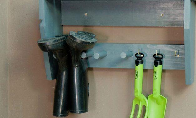 How To Make a Garden Tool Organizer