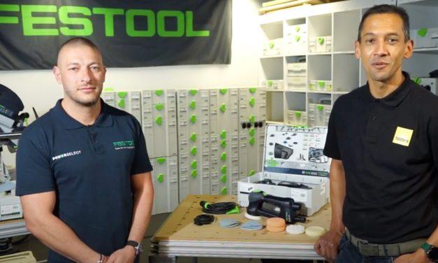 Festool Geared Eccentric Sander Rotex 90