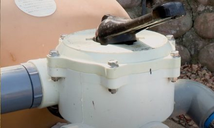 Servicing Pool Valve And Seal