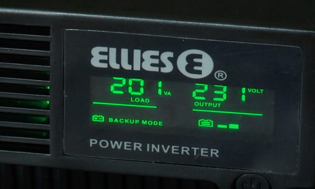How To install a simple power back-up system | Ellies 24400VA UPS Power Inverter