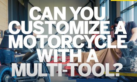 Customize a motorcycle with a Dremel 4000 Multi-tool