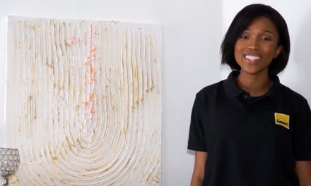 DIY Textured Art Tutorial
