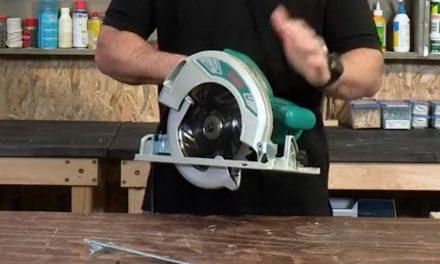 Product Review: Ryobi 2400W Circular Saw