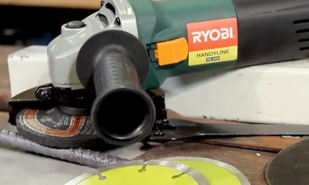 Product Review: Ryobi Angle Grinder 650W