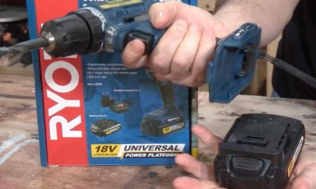 Product Review: Ryobi XD-180 Cordless Driver Drill Starter Kit