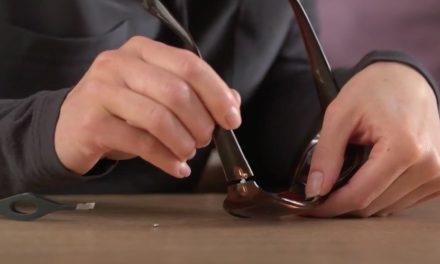 How to repair sunglasses frame with Loctite SuperGlue